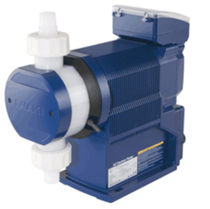 Chemical pump / diaphragm / for water treatment / with digital control