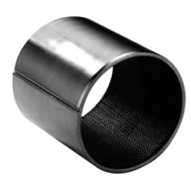 Thin-walled plain bearing / open / metal / self-lubricated