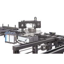 Band saw / for steel / electro-hydraulic / horizontal