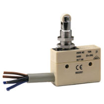 Lever micro-switch / single-pole / stainless steel / electromechanical