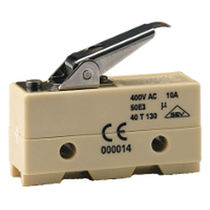 Single-pole micro-switch / PBT / electromechanical / snap-action