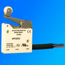 Single-pole micro-switch / high-temperature / stainless steel / electromechanical