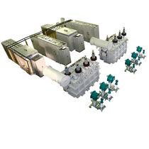 Distribution transformer test system