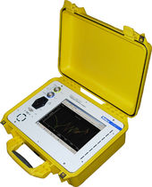 Electrical network analyzer / frequency response / portable