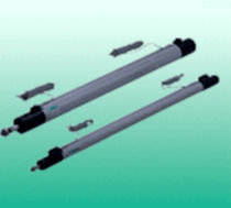 Pneumatic cylinder / double-acting / high-speed