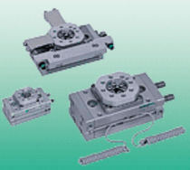 Horizontal rotary table / for turning / rack-and-pinion