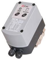 Ball valve / for effluents / motorized / drain