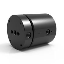 Vacuum rotary union / 2-passage / hydraulic