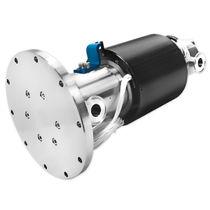 Gas rotary union / 3-passage / custom