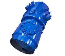 Gas rotary union / 6-passage / hydraulic / custom