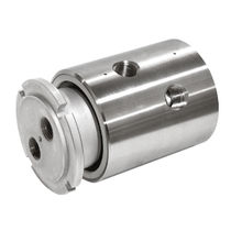 Gas rotary union / 2-passage