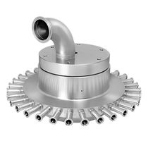 Food product rotary union / for food industry applications
