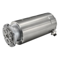 Food product rotary union / 6-passage / stainless steel
