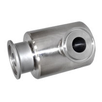 Oil rotary union / for gas / stainless steel