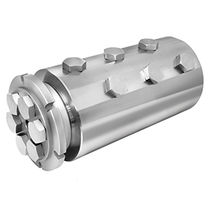 Chemical rotary union / 6-passage / for offshore applications / stainless steel