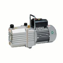 Rotary vane vacuum pump / lubricated / single-stage / oil-sealed