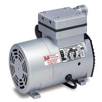 Rocking piston vacuum pump / lubricated / single-stage / compressor