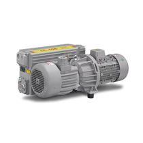 Rotary vane vacuum pump / lubricated / single-stage / compact