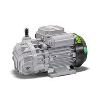 Air compressor / gas / rotary vane / lubricated