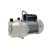 Rotary vane vacuum pump / single-stage / lubricated / industrial