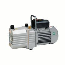 Rotary vane vacuum pump / lubricated / single-stage / high