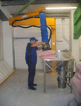 Sack vacuum tube lifter