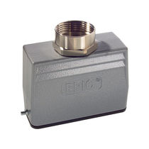 Electric connector hood / metal