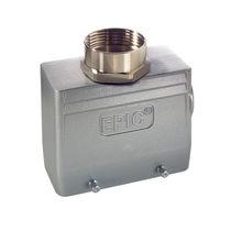 Metal connector hood