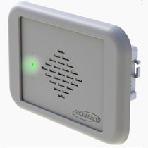 Refrigerant gas leak detector / wall-mounted / with audible signal / flush-mount