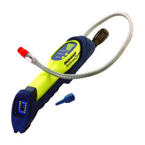 Refrigerant gas leak detector / combustible gas / sniffing / portable