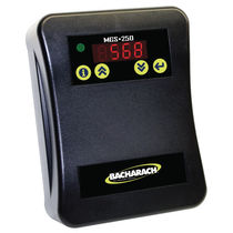 Refrigerant gas leak detector / infrared / wall-mounted / with audible signal
