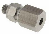 Screw fitting / straight / pneumatic / miniature