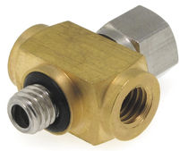 Screw-in fitting / cutting ring / cross / hydraulic