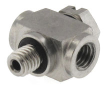 Threaded fitting / T / stainless steel