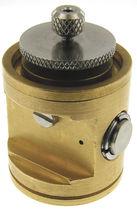 Gas pressure regulator / membrane / triple / stainless steel