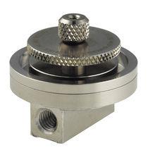 Air pressure regulator / membrane / single-stage / stainless steel