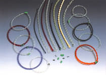 Round transmission belt / plastic / connectable