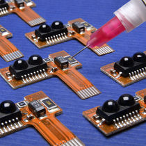 Epoxy adhesive / single-component / electrically insulating / thermally-conductive