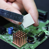 Epoxy thermally conductive material