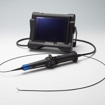 Remote visual inspection videoscope / flexible / portable / industrial