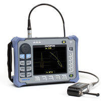 Hand-held eddy current flaw detector