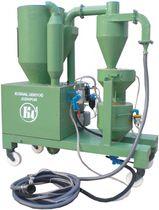 Mobile sandblasting machine / suction / manual