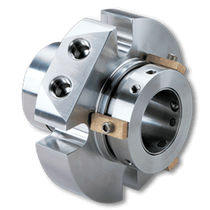 Dual-cartridge mechanical seal / stainless steel / for heavy-duty applications