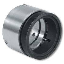 Spring mechanical seal / for shafts / metal / balanced