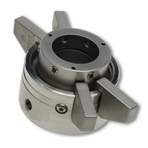 Cartridge mechanical seal / for pumps / for agitators / for viscous liquids