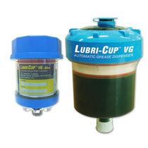 Single-point lubricator / electrochemical / automatic / variable-flow