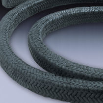 Carbon yarn braided packing / high-temperature
