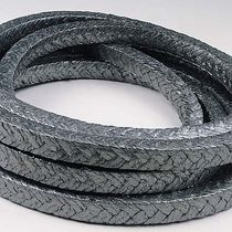 Braided graphite packing / chemical-resistant / for valves
