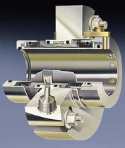 Dual-cartridge mechanical seal / for heavy-duty applications