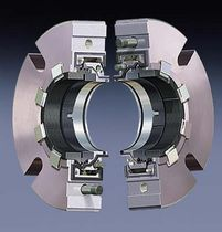 Cartridge mechanical seal / for pumps / split